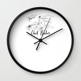 Chet - Strollin' Wall Clock