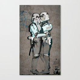 kissing clones Canvas Print