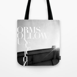 from follow fun Tote Bag