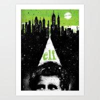 elf Art Prints featuring Elf by Dan K Norris
