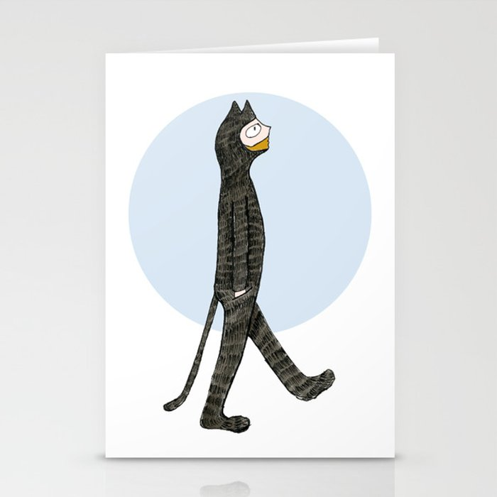 Cat Blues Stationery Cards