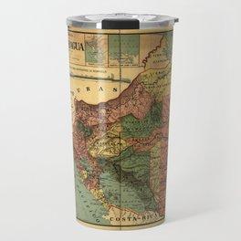 República de Nicaragua Map (1913) Travel Mug