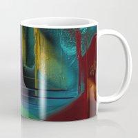 street Mugs featuring Street by Turul
