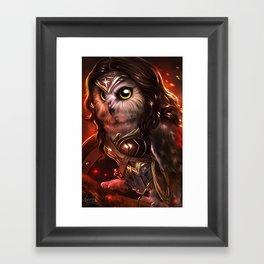 wonder owl Framed Art Print