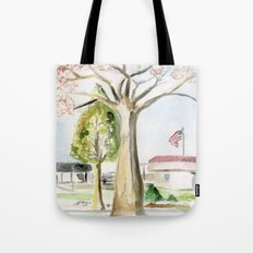 A Peaceful Afternoon Tote Bag