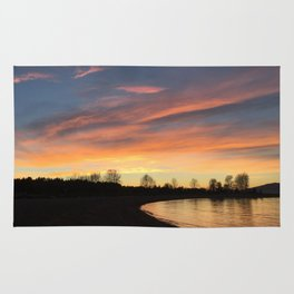 Sunset in Jerico Rug