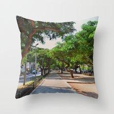 Rothschild avenue Throw Pillow