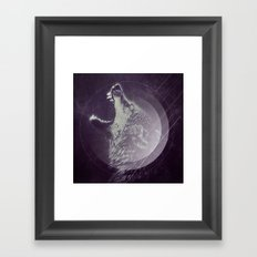 Abstract Wolf Framed Art Print
