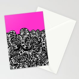 Python Pink Stationery Cards