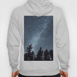Milky Way in the Woods | Nature and Landscape Photography Hoody
