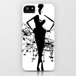 Goddess art print iPhone Case