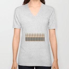 Bullet Belt Unisex V-Neck