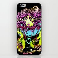 ramen iPhone & iPod Skins featuring Ramen girl by bb0t