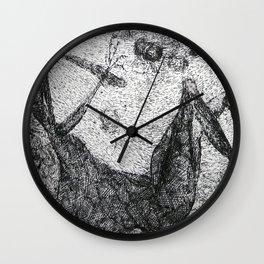 """""""La mort"""" Wall Clock"""