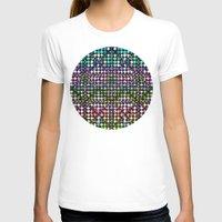 matrix T-shirts featuring Dot Matrix... by Lisa Argyropoulos