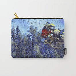 Motocross Dirt-Bike Championship Race Carry-All Pouch