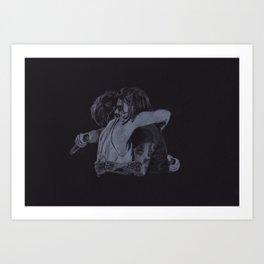 The Larry Stylinson Hug Art Print