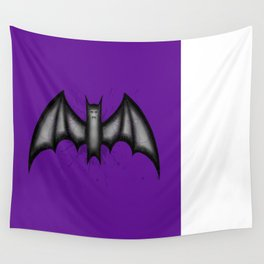 Winged Menace Wall Tapestry