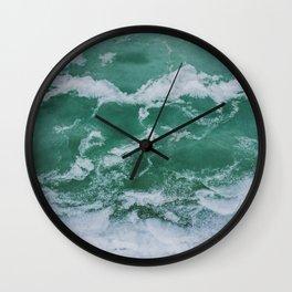 Winter sea Wall Clock