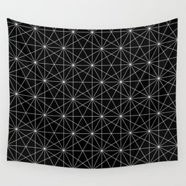 Intersected lines Wall Tapestry