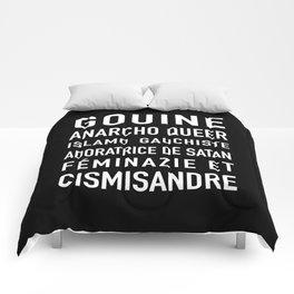 Gouine anarcho queer islamo-gauchiste féminazie et cismisandre Comforters