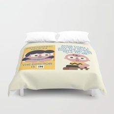 Muted Affection Duvet Cover