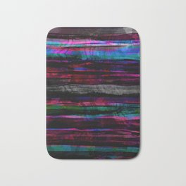 colorful abstract painting Bath Mat