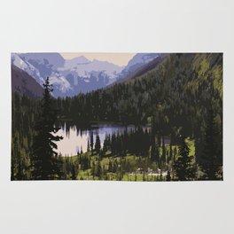 Waterton Lakes National Park Rug
