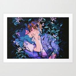 Neptune & Uranus Art Print