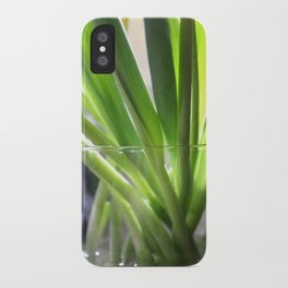 tulip stems iPhone Case