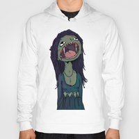 vampire Hoodies featuring Vampire by charcola