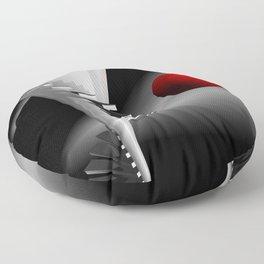 go upstairs -2- Floor Pillow