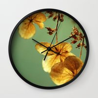 dolly parton Wall Clocks featuring Dolly by Amanda Stevens