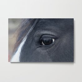 Those lashes Metal Print