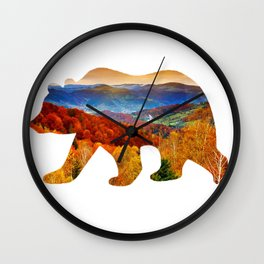 Bear Wall Clock