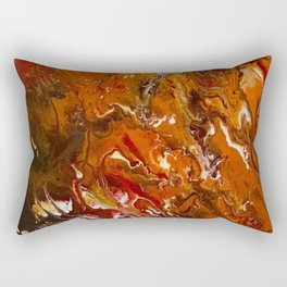 Field Of Flames Rectangular Pillow