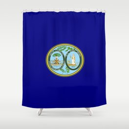 seal of south carolina Shower Curtain