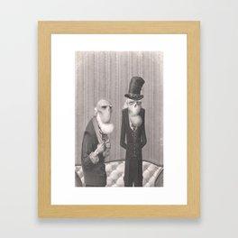 Isaiah and Bartholomew Framed Art Print