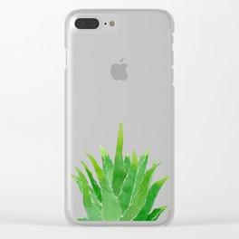 Aloe Clear iPhone Case
