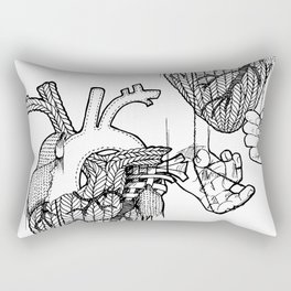 Heartstrings Rectangular Pillow