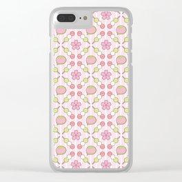 Hanami Nummies | Blush Clear iPhone Case