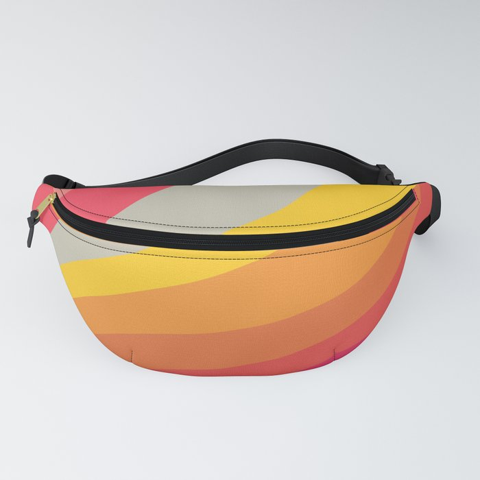 VHS Retro Gradient 4 Fanny Pack