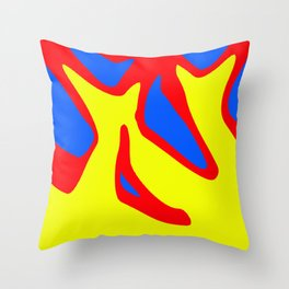 Excited Throw Pillow
