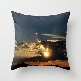 Amazing Arizona Sunsets I Throw Pillow