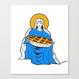 Pietà Canvas Print