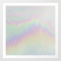holographic Art Prints featuring Holographic! by Alisa Galitsyna