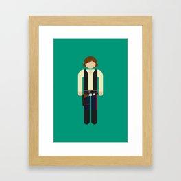 Han 01 Framed Art Print