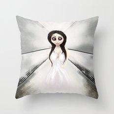 I feel like a ghost. Throw Pillow