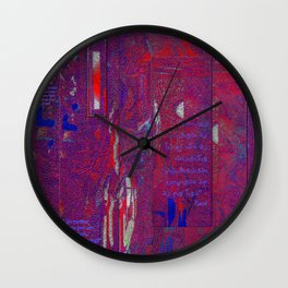 Dreams of Persia with Rumi Healing Words Wall Clock