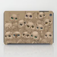 kittens iPad Cases featuring Kittens by Antracit
